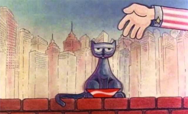 Meow, de Marcos Magalhães (1981) — premiado em Cannes