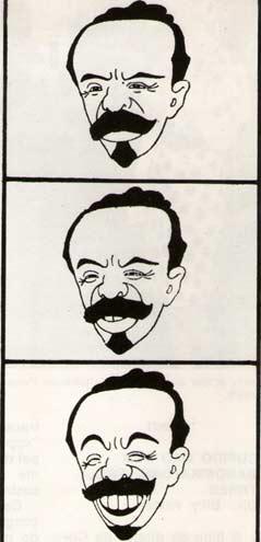 O Kaiser, de Seth, 1917/, primeiro desenho animado brasileiro.