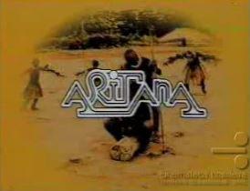 Aritana, com Carlos Alberto Ricceli e Bruna Lombardi